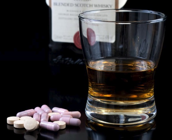 Употребление алкоголя совместно с лекарственными препаратами