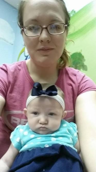 Kathryn Blalock With Mom Last Visit