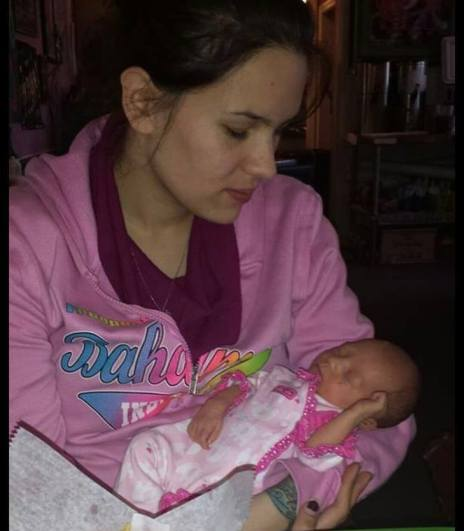Bella and mommy