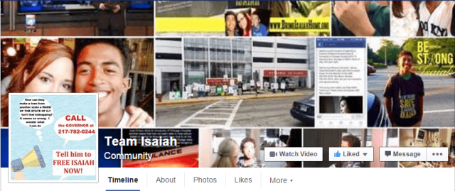 Team Isaiah FB