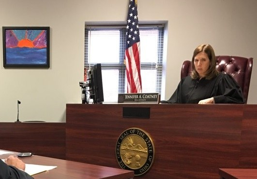 Magistrate Jeniifer Coatney in Warren County Juvenile Court image