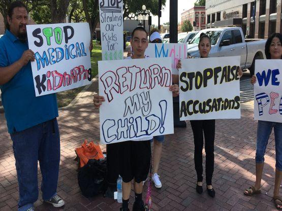 Texas-Protest-Gardasil-Shot-Medical-Kidnap