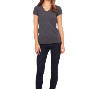 IN-HOUSE CLEARANCE 6005 BELLA FEMALE FIT V-NECK T-SHIRT