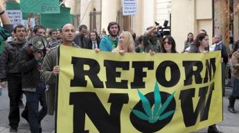 cannabis protest Malta