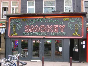 Amsterdam cannabis cafe Smokeys
