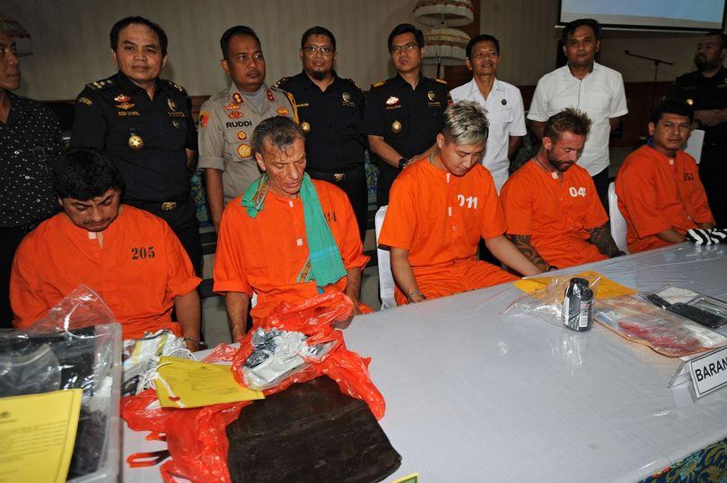 British Man arrested Bali cannabis smuggling