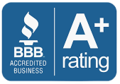 BBB Logo with A+ Rating for Medical Mutts Service Dogs Inc