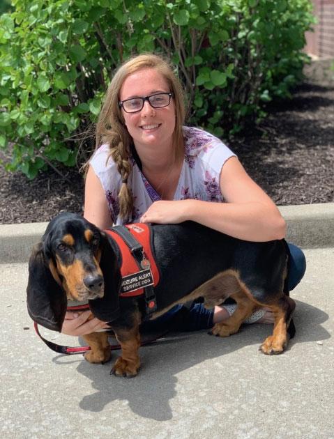 Medical Mutts Helps Owner Train Her Own Seizure Alert Dog and Get Her Life Back