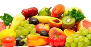 Fresh Fruits and Vegetables Image