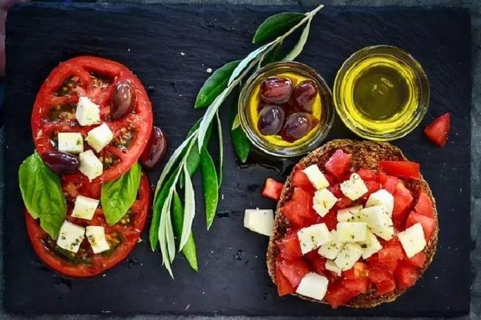 Mediterranean diet and stress
