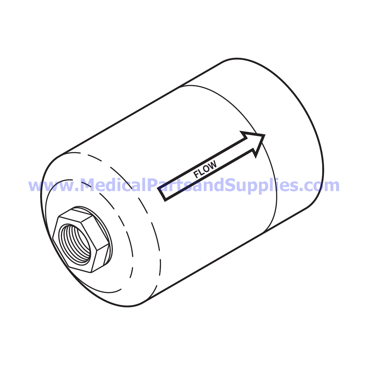 Sterile Air Hepa Filter For The Sterrad 100s Part Ssf011 Oem Part 25 001