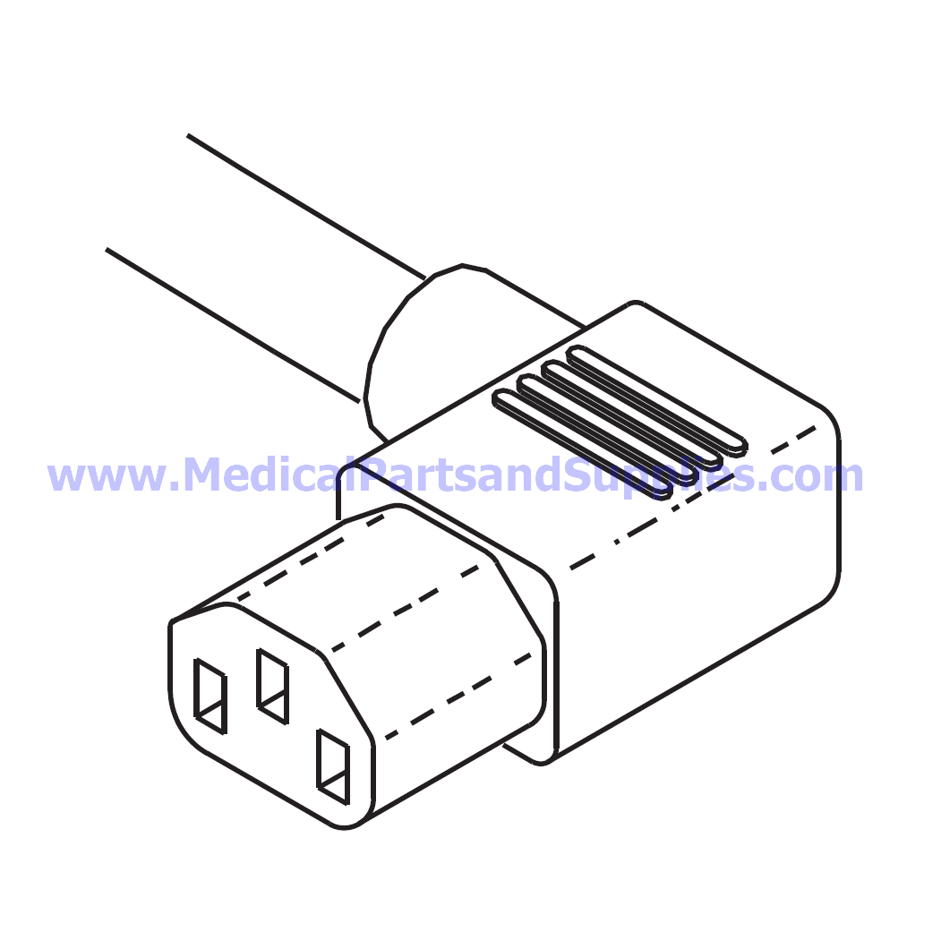 Power Cord For The Tuttnauer Ea Part Rpc582 Oem