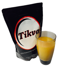 tikva with drink