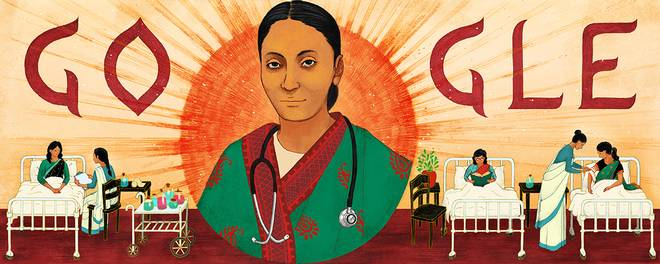 One of the First Indian women physicians Rukhmabai, gets Google Doodle