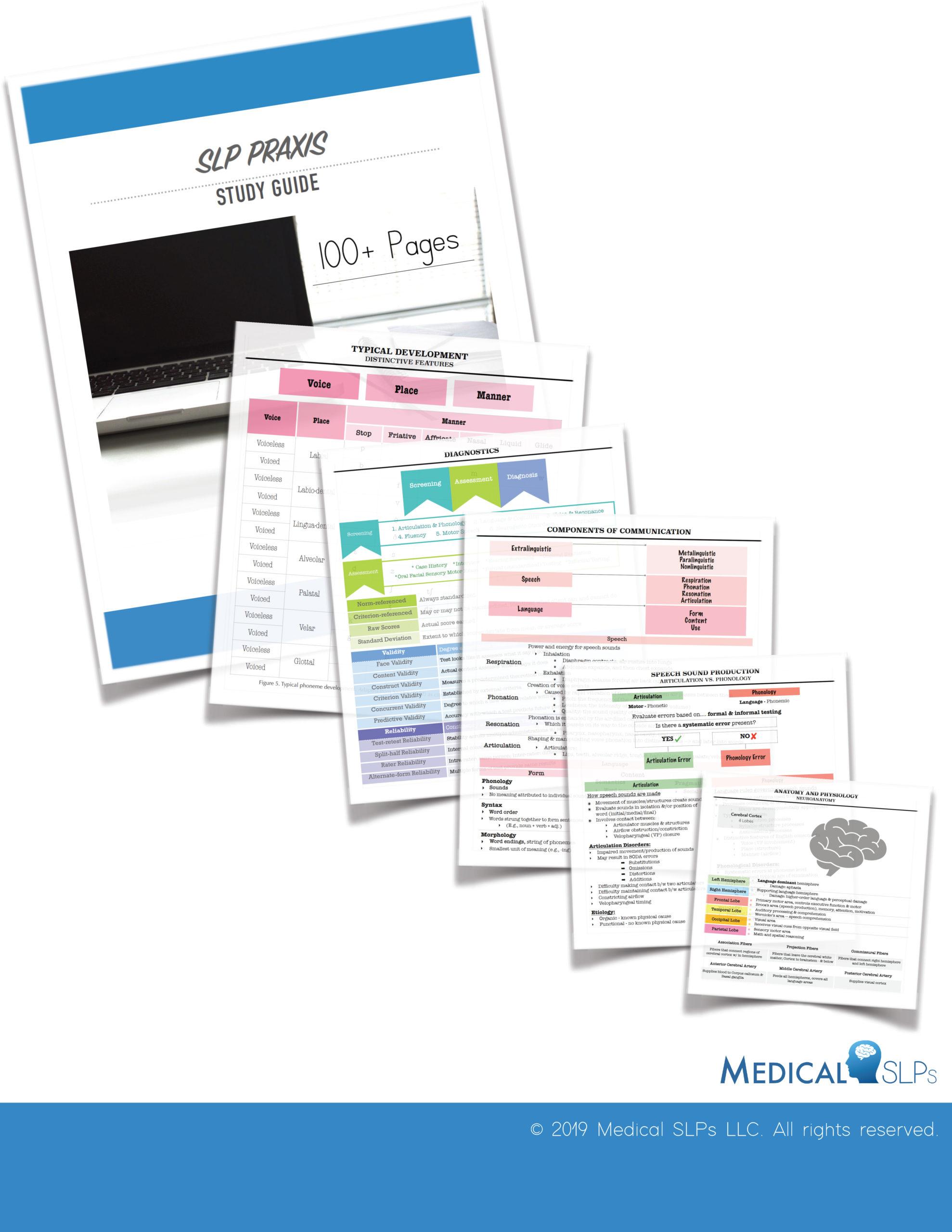 Slp Praxis Study Guide