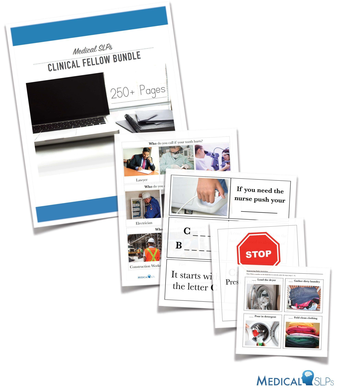 Medical Slp Therapy Bundle