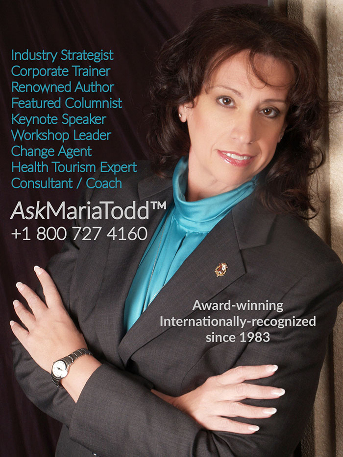 Photo of Mercury Advisory Group founder and medical tourism technical assistance expert, Dr Maria Todd