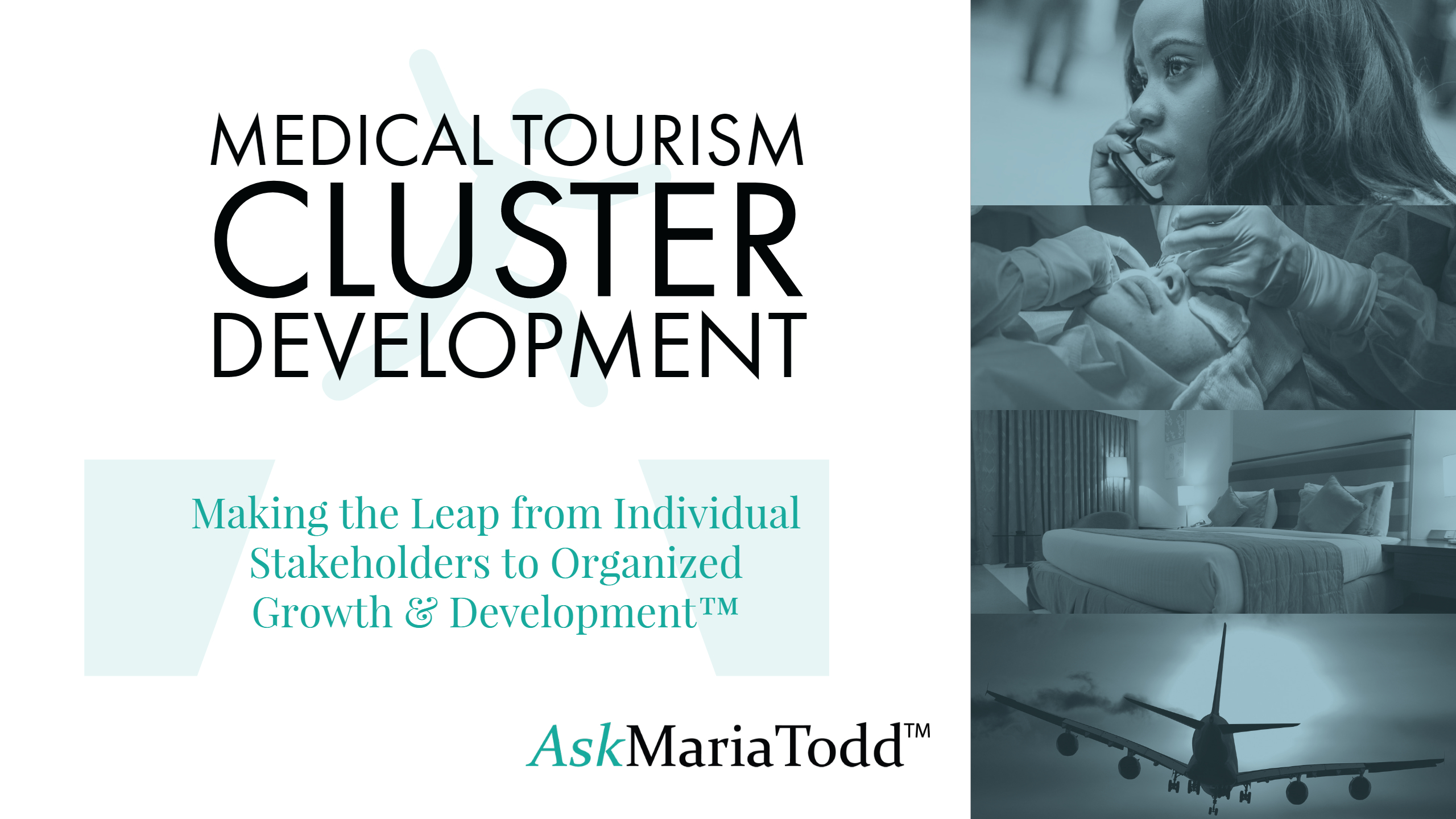 MEDICAL TOURISM CLUSTER DEVELOPMENT WORKSHOP with MARIA TODD