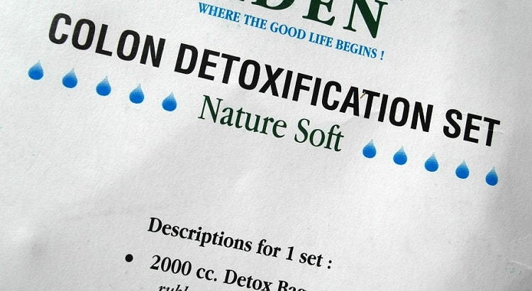 Aden colon detoxification set