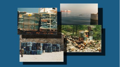 Photo of رمي النفايات السامة في لبنان