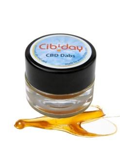 Cibiday43% CBD Dabs, 430mg
