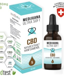 5% CBD Medijuana Ultrasoft