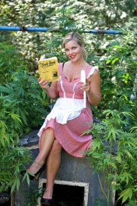 *** VIDEO AVAILABLE *** LOCATION UNKNOWN - UNDATED: A collect photo of marijuana chef Mary Jean Dunsdon, aka Watermelon, poses for marijuana inspired photos SEXY chef Mary Jean Dunsdon brings new meaning to hotpot - baking a range of cannabis infused dishes. The 35-year-old has her own cooking show 'Baking A Fool' of myself where she entices viewers with her sultry cooking style. And the glamour girl even poses nude amongst crops of marijuana - which is legal for medicinal purposes in her hometown of Vancouver, Canada. PHOTOGRAPH BY Maria Coletsis / Barcroft USA UK Office, London. T +44 845 370 2233 W www.barcroftmedia.com USA Office, New York City. T +1 212 796 2458 W www.barcroftusa.com Indian Office, Delhi. T +91 11 4053 2429 W www.barcroftindia.com