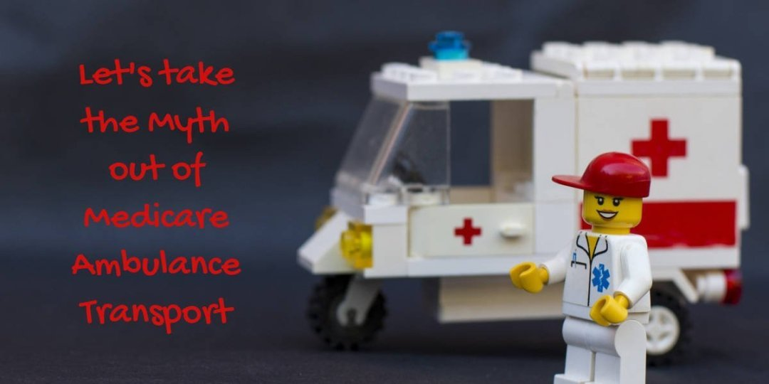 Photo of toy Ambulance for article about Medicare Ambulance Services