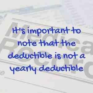Medicare Deductible