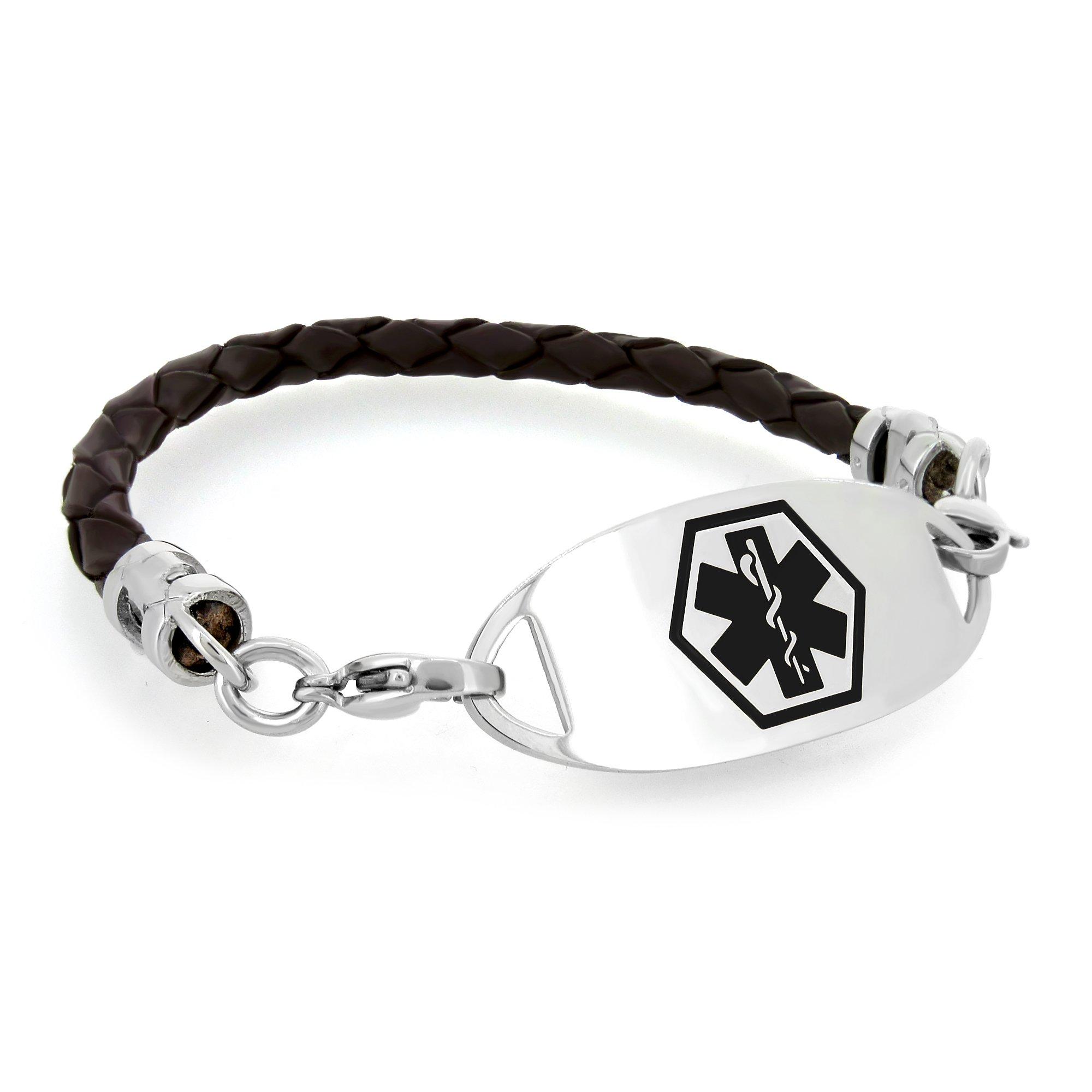 juste prix vente pas cher dernière mode Medical Alert ID Bracelets for Women | MedicEngraved.com