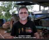 Secretário municipal de agricultura Alonso Torres