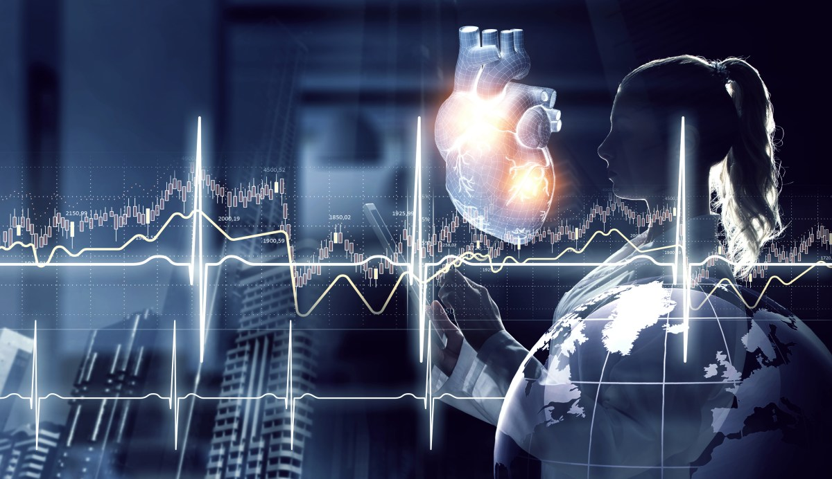 Medicine research of human heart