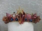 Third Mermaid Crown - Front close up