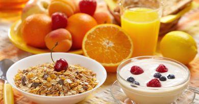 El desayuno es la comida más importante del día, nunca hay que omitirla.