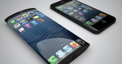 La nueva patente de Apple es un terminal con pantalla y baterías curvadas y electrónica flexible
