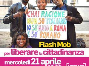 """IUS SOLI: domani Medicina Solidale aderisce al flash mob """"Liberare la cittadinanza"""""""