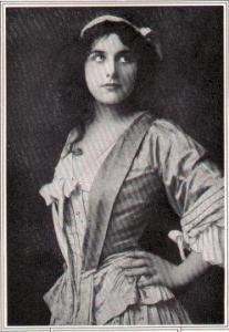 Geraldine Farrar - the first Amica