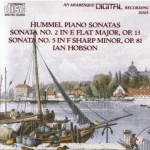 Recording of the Week: Hummel Piano Sonatas 2 and 5