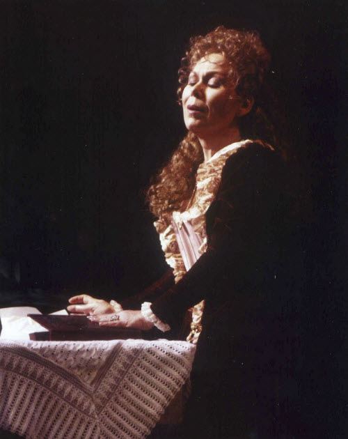 Scotto as Charlotte in Massenet's Werther