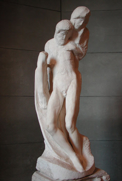 Rondanini Pieta - Michaelangelo age 88