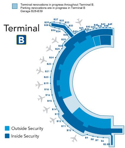 DFW B Terminal