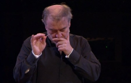 Gergiev with toothpick