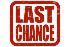Grunge Stempel rot LAST CHANCE