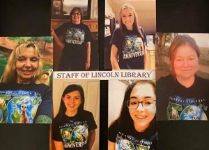 Lincoln Library staff