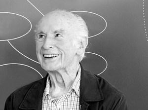 Candid portrait of an older Dr. Hofmann.