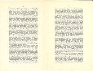 Scan of two pages of an open pamphlet.