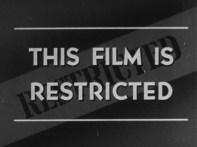 Warning title screen.