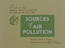 Title Screen for Sources of Air Pollution.