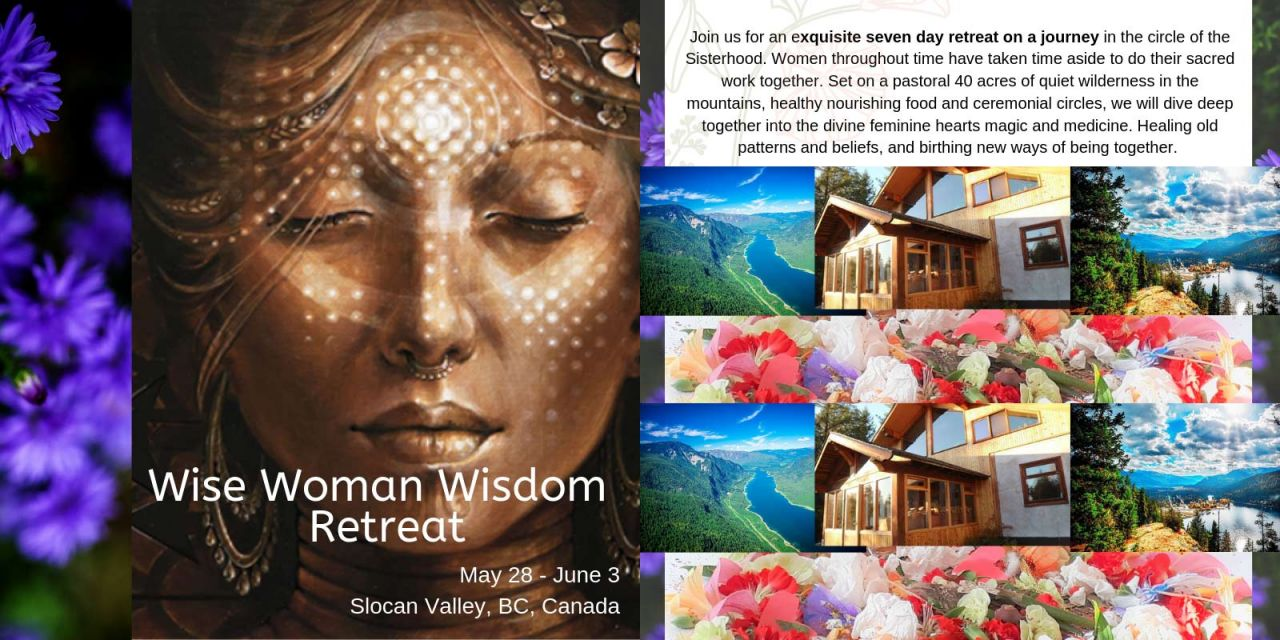 Join us for an exquisite seven day retreat on a journey in the circle of the Sisterhood. Women throughout time have taken time aside to do their sacred work together. Set on a pastoral 40 acres of quiet wilderness in the mountains, healthy nourishing food and ceremonial circles, we will dive deep together into the divine feminine hearts magic and medicine. Healing old patterns and beliefs, and birthing new ways of being together. This Retreat includes Four evening Healing ceremonies, Ancient Womens herbalism practices, Dance journeys, Contemplative practices, Exploring the feminine voice, intuitive painting practice, Ikaro song class and Despacho ceremony.