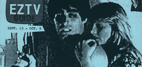 "a dramatic film frame with the superimposed text ""EZTV Guide"""